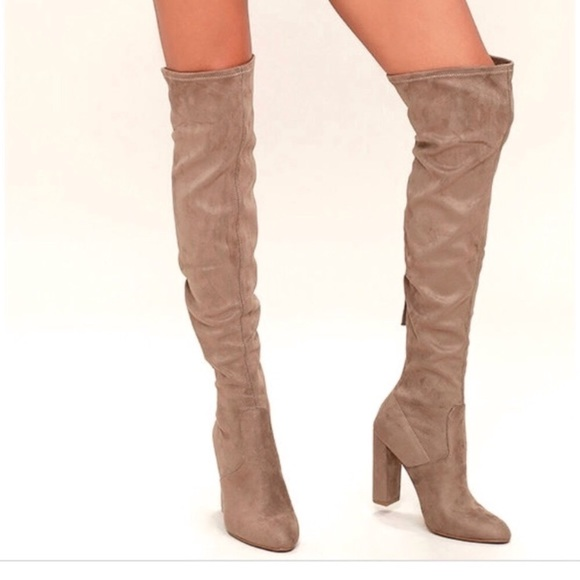 17e683a4c65 Steve Madden Emotions Boots In Taupe Sz 6.5. M 5bf33d439519968c14517196